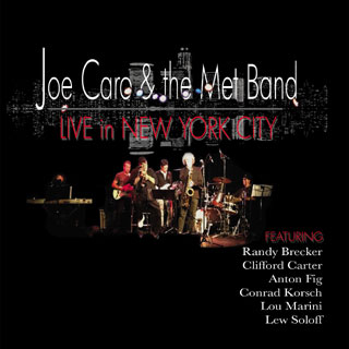 "The Met Band – ""Live In New York City"" also features 6X Grammy Winner Randy Brecker"