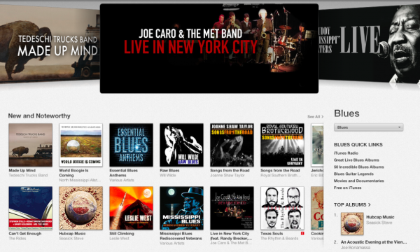 Joe Caro and The Met Band-iTunes Banner