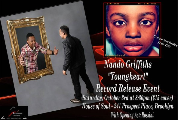 The album Youngheart from music artist nandogriffiths is out nowhellip