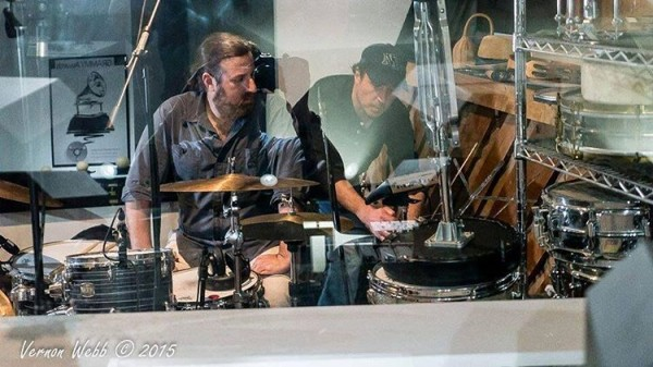 Photo from His HouseInnsbruck Studios with drummer extraordinaire and Grammyhellip