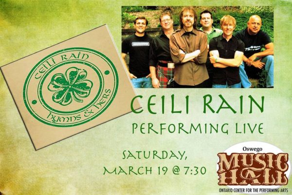 Happy St Patricks Day! Ceili Rain is set to performhellip