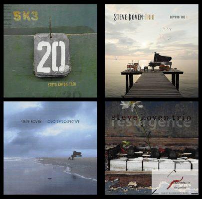 Steve Koven Trio albums available now! stevekovenpianonewrelease beyondthecsoloretrospective 20resurgenceinnsbruckrecordsjazz steinwaygrandhellip