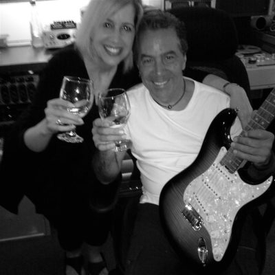 Toasting the upcoming Joe Caro and The Met Band album!hellip