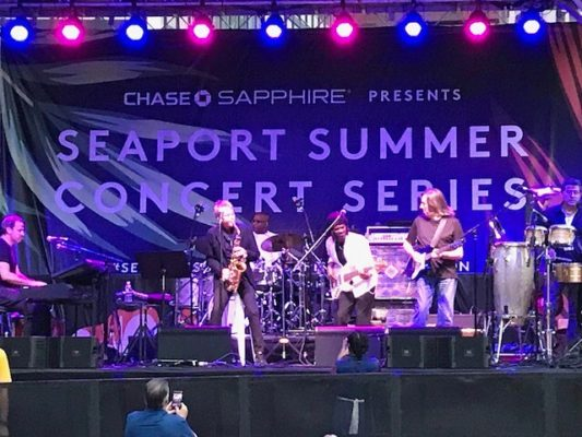 Were loving the Seaport Summer Concert Series! seaportsummerseries nycmusic hhchellip