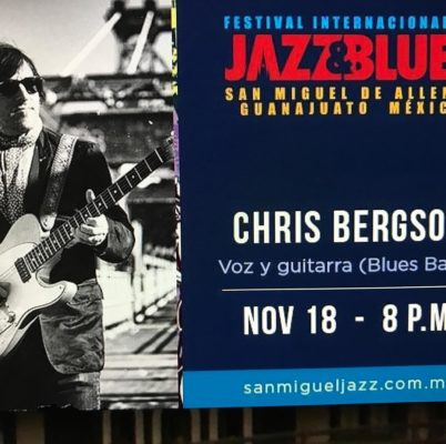 Save the Date Chris Bergson performance at the San Miguelhellip