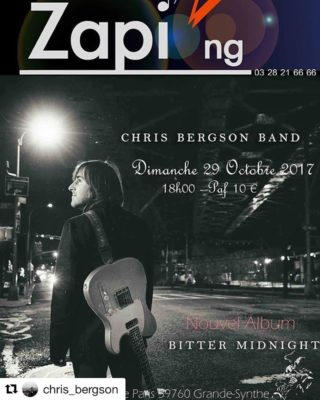 The Chris Bergson Band plays Le Club Zapi  nghellip