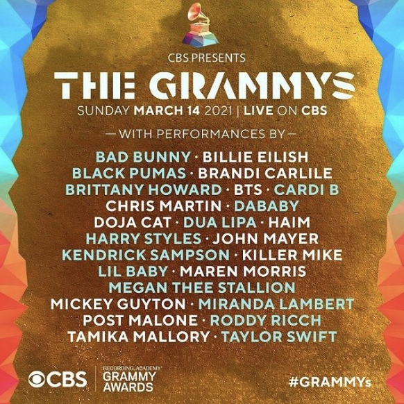 Recording Academy Announces Official GRAMMY Week 2021 Events