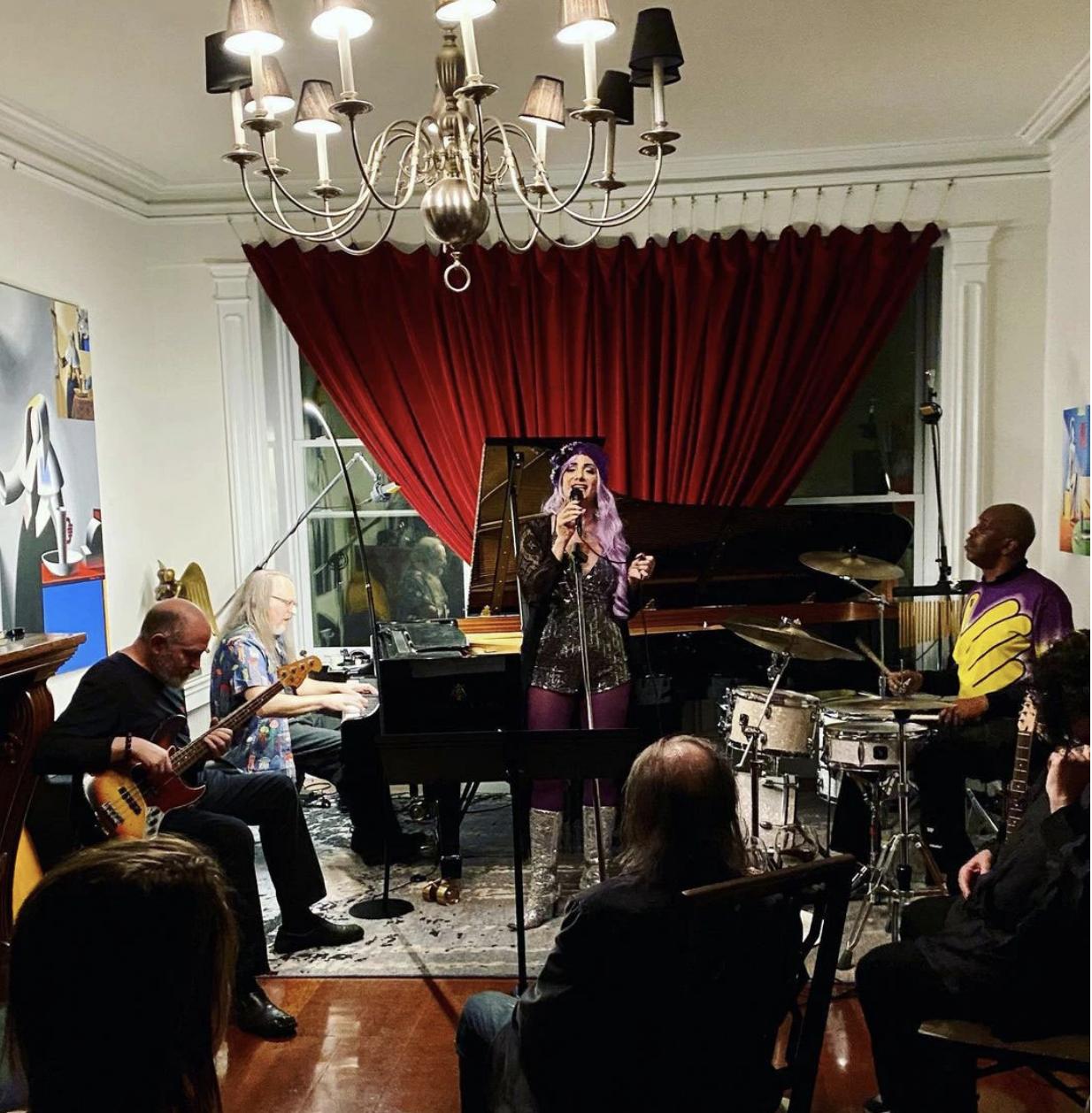 Art Bad Boy Mark Kostabi Hosts All-Star Jam Session at Chelsea Townhouse